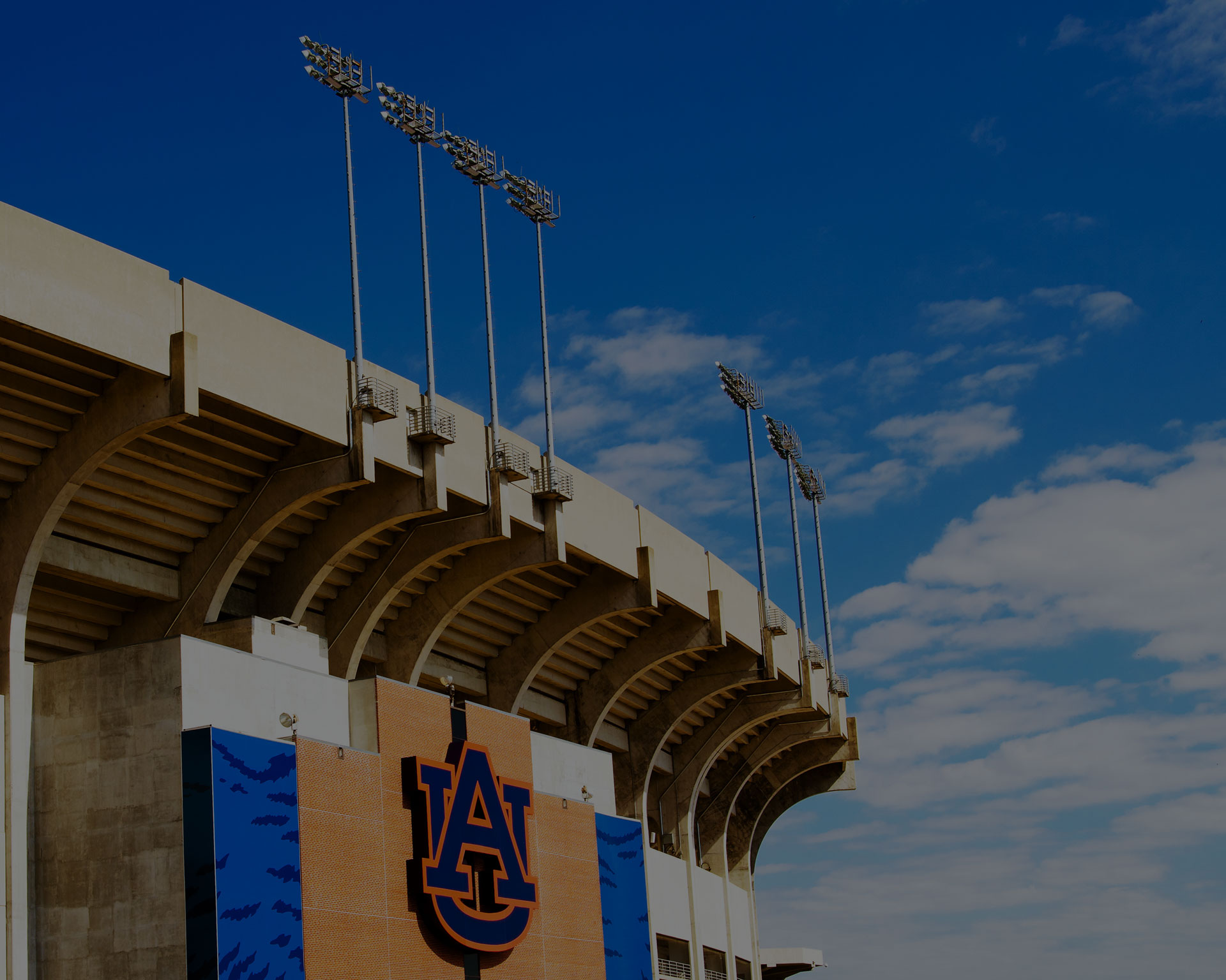 The stadium is the home field for the 2010 NCAA Champion Auburn Tigers.